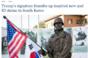 미 국방부 기관지, '박근혜 전 대통령에게서 영감 받은 동상 기증' 상세히 보도
