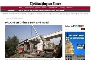"""美 워싱턴타임스, """"박근혜 대통령의 탄핵과 구금은 북한 선전선동 정보전의 결과"""""""