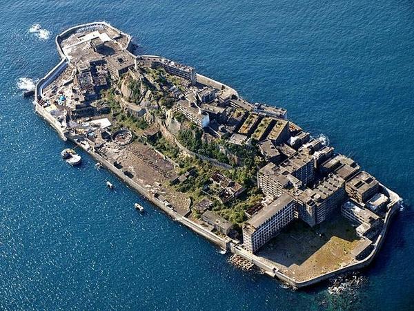 하시마 섬의 모습. 사진=위키백과