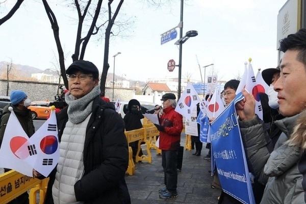 이날 공대위는 출력이 커진 새로운 앰프를 사용, 반일 세력의 연설 방해에도 무난하게 집회를 진행할 수 있었다.