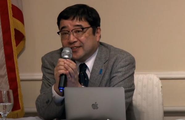 니시오카 쓰도무 교수.