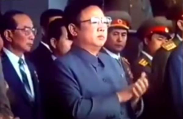 김정일의 생전 모습.