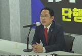 """최대집, """"정치 무능 방역, 문재인 내각 총사퇴하라"""" 청와대 앞 1인 시위"""