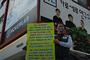 """정함철 """"강용석과 김세의, 부정선거 사기극 이실직고하라!"""" 경고 1인 시위"""